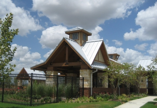 Outdoor View of Fairfield Village North Community Center