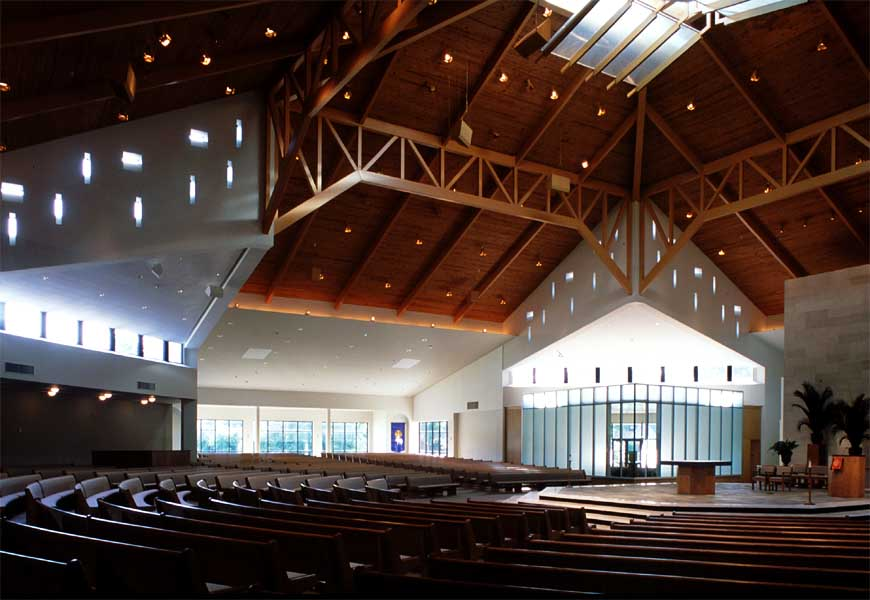 Interior of St Ignatius